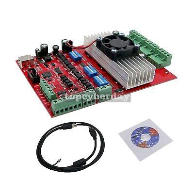 Mach3 Cnc 3 Axis Stepper Motor Driver Board Tb6560 Usb Port Usb Cable