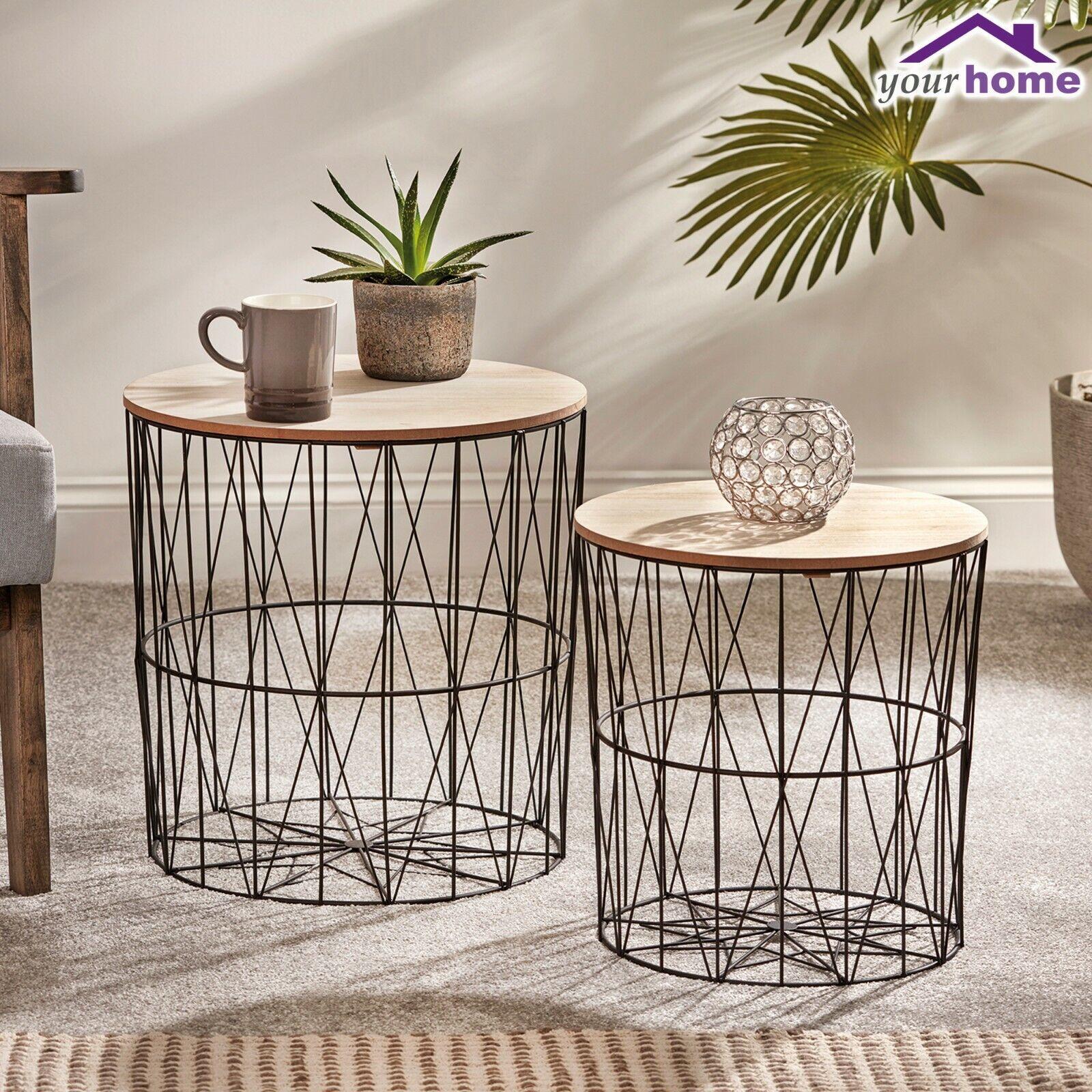 Side Tables Living Room Furniture Metal