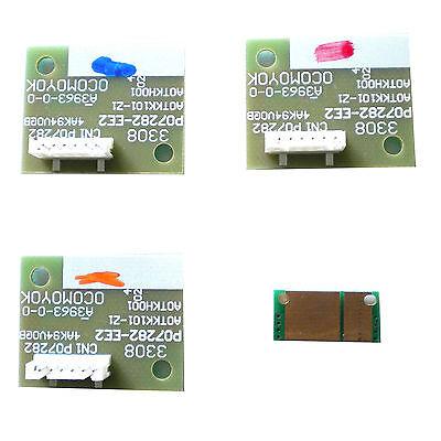4 Drum Imaging Unit Chip For Konica Minolta Bizhub C250 C250P C252 C252P IU210K