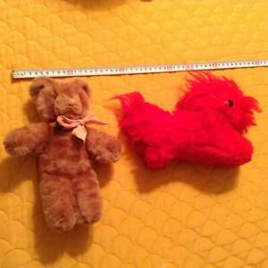 #2  Vintage Stuffed doll teddy bear Red Dog  Over 56 years old Cleveland Redland Area Preview