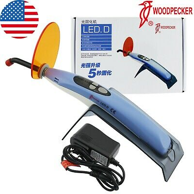 Us Woodpecker Dental Curing Light Led Lamp Unit Wireless Cordless Original Led D