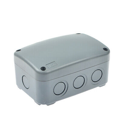 Ip66 Waterproof Junction Box Electrical Project Enclosure Weatherproof Case Abs