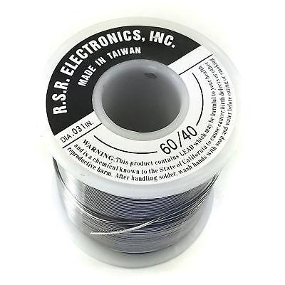 1 Pound Rosin Core Solder Spool - 6040 - Thickness .031