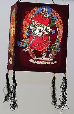 Rote Laterne Stoff (Laterne Batik: