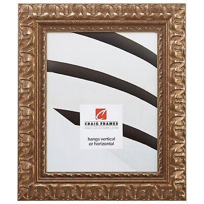 "Craig Frames 2"" Wide Bravado Ornate Aged Bronze Picture Fram"