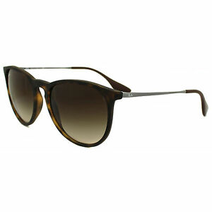dd5fe171af Authentic Ray-Ban Erika Matte Tortoise Brown Sunglasses RB 4171 865 ...