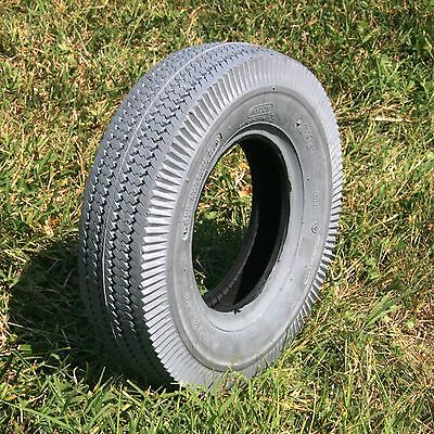 2.80x2.50-4 Cst 4ply Gray Sawtooth Tire W/ Tube - Set Of ...