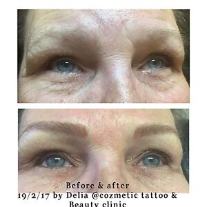 Feather stroke eyebrow tattoo Sunnybank Hills Brisbane South West Preview