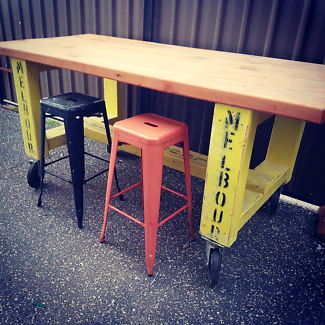 large cafe table
