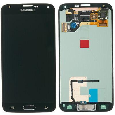 Original Samsung Galaxy S5 Sm G900f Display Lcd Touch Screen Glass Black