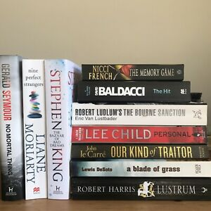 Secondhand Adult Fiction Books - Thriller, Mystery, Horror