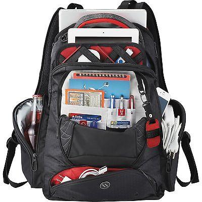 elleven Vapor Checkpoint-Friendly Compu-Backpack executive travel study aboard