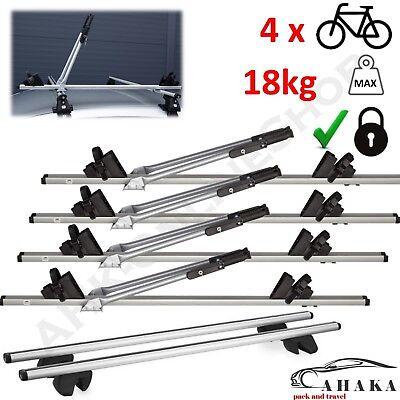 Fahrradträger Dachträger Dachfahrradträger Relingträger Fahrradhalter Alu Dach