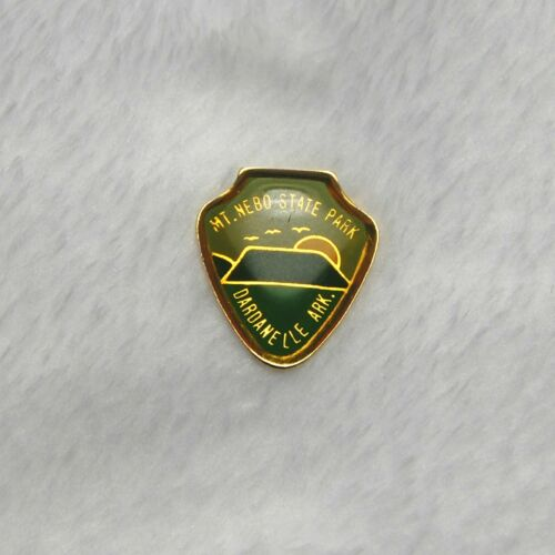 Mt Nebo State Park Dardanelle Arkansas Hat Pinback Pin