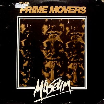 PRIME MOVERS orig 1984 Post-Punk New Wave LP California, Birdcage Records