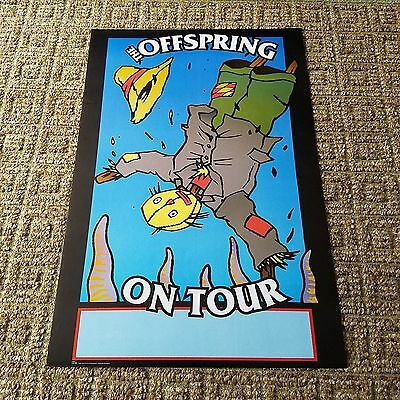 """The Offspring """"On Tour"""" Promo Poster From 1998"""