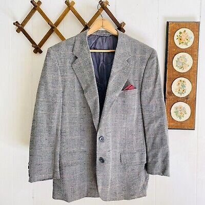 Hickey Freeman Vintage 1970s Silk Wool Blazer Sport Coat Jacket USA Made 42 S