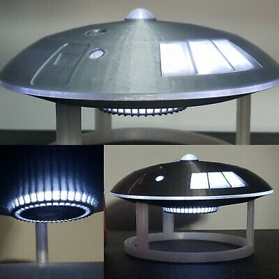 Jupiter 2 in Flight [from Lost in Space] - Medium - with stand and lights