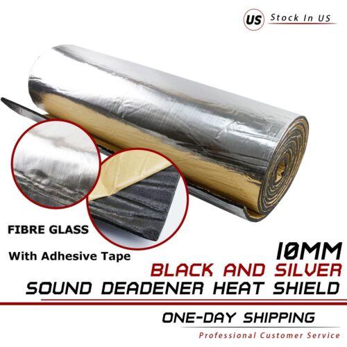 """Floor Trunk Door Sound Deadener Insulation Heat Shield Mat Thermal Block 12""""x39"""""""
