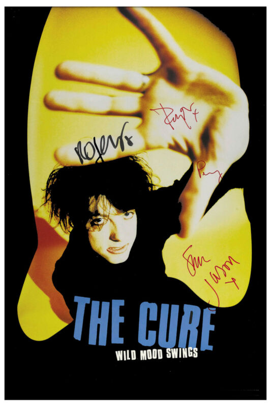 New Wave: The Cure * Wild Mood Swings * Promotional Poster 1996  12x18