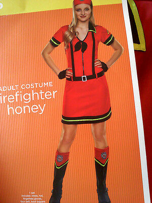 Lady Firefighter Costume (NEW!  Ladies Firefighter Honey)