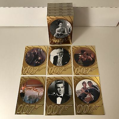 JAMES BOND 007 50th ANNIVERSARY SERIES 2 (2012) Complete Trading Card Set of 99