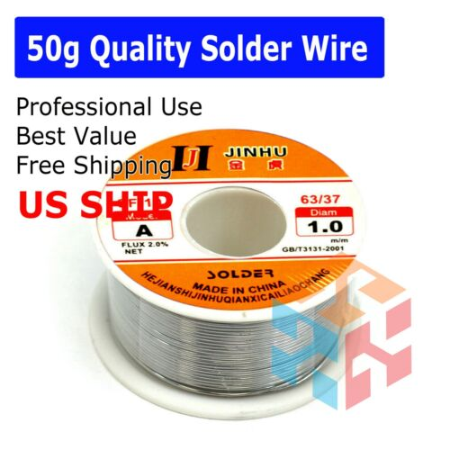 63/37 Tin Lead Line Soldering 1.0mm Rosin Core Solder Flux Welding Wire Reel Hot