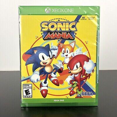 Sonic Mania - Standard Edition (Microsoft Xbox One, 2018) - NEW