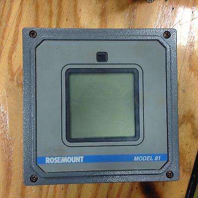 Rosemount Model 81 Temperature Transmitter 0081t