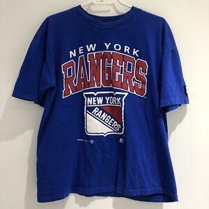 1993 Starter New York Rangers T-shirt