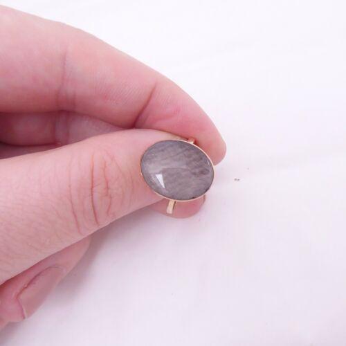 9ct gold mourning locket ring, Georgian rare