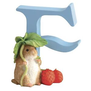 Range of Border Fine Arts Beatrix Potter Alphabet Letters Figurine Ornament New