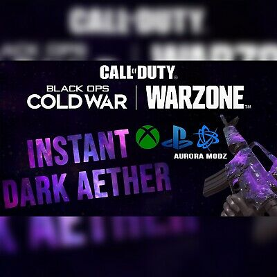 CALL OF DUTY COLD WAR - INSTANT DARK AETHER MAX GUNS &...