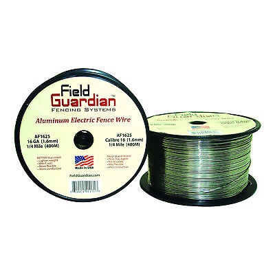 Field Guardian 16 Ga Aluminum Wire 14 Mile Electric Fence Af1625 814421011718