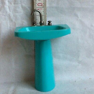 Puppenstuben Waschbecken mit Stand Fuß Waschbecken * (Fuß-waschbecken)