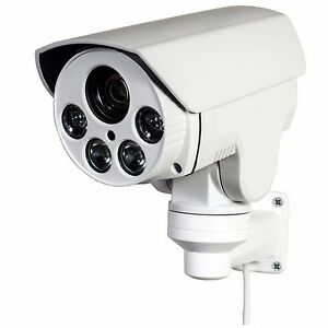 CCTV 1080P Mini Outdoor IR Bullet IP PTZ Camera 10X ...