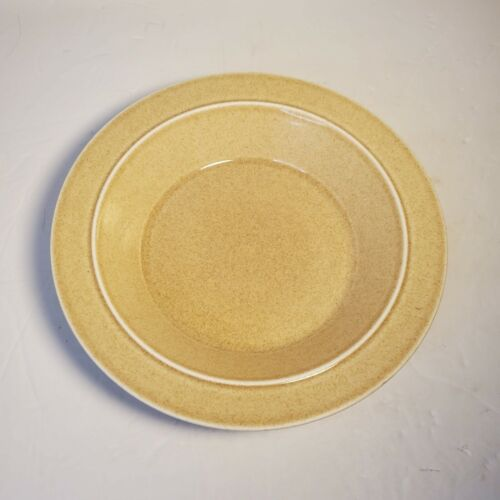 Shenango China Interpace New Castle PA Tan Colored Pie Plate Dish V36 Restaurant