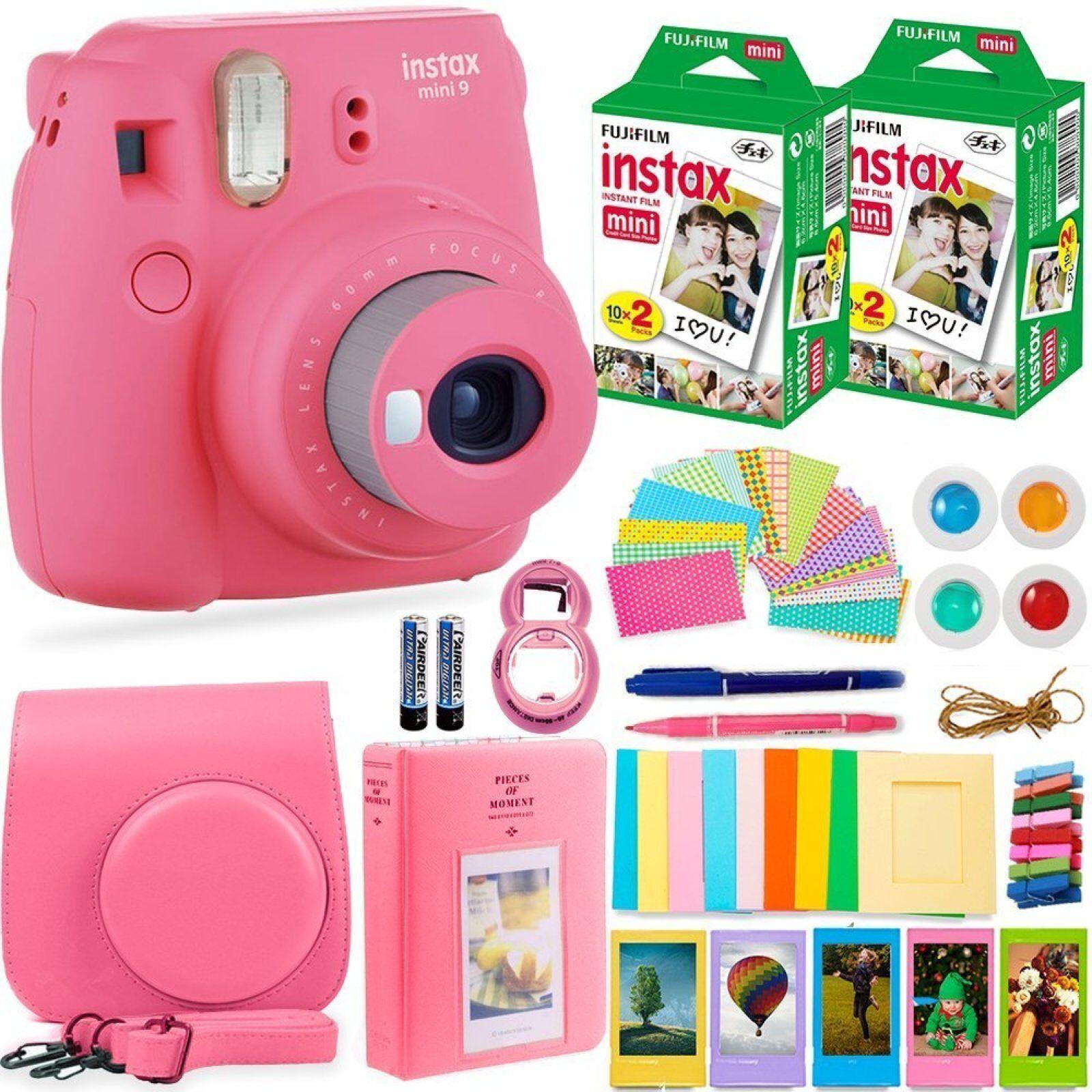 DEALS NUMBER ONE Fujifilm Instax Mini 9 Camera with Fuji Ins