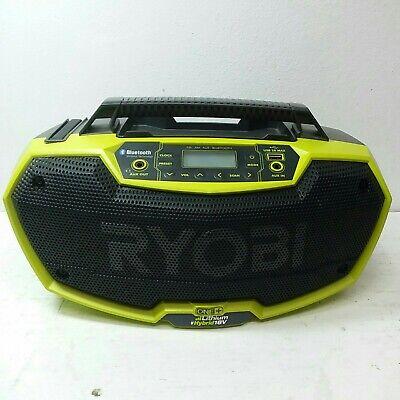 Ryobi P746 Bluetooth Wireless 18v Stereo
