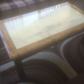 Sofa , marble coffee table  Glendenning Blacktown Area Preview