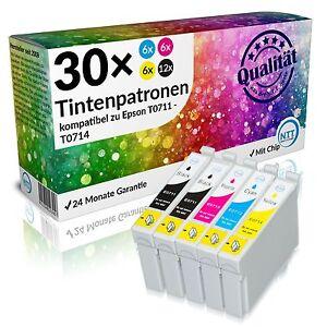 30 x Druckerpatronen für Epson Stylus DX4000 DX4050 DX4400 DX4450 DX5000 DX5050