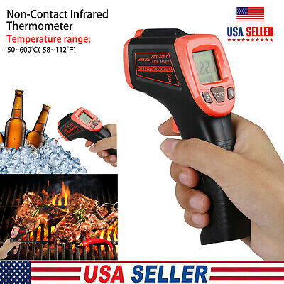 Medical Non-contact Body Forehead Ir Infrared Digital Thermometer Adults Baby Us