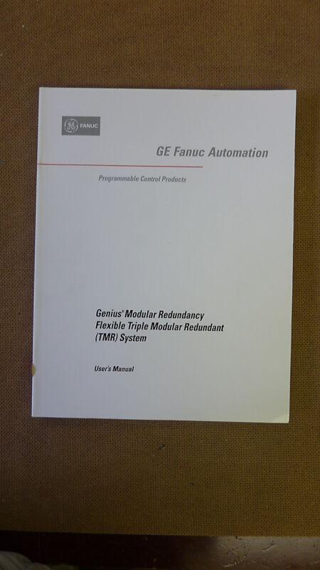 GE Fanuc GFK-1277A Genius Modular Redundancy Flexible TMR System Manual (7042)