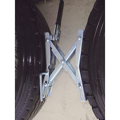 Tow Tuff Ttf 01Twc Tandem Axle Wheel Chocks  2