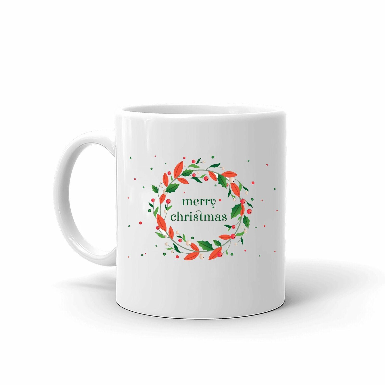 Merry Christmas Unique Style Best Family Coffee Tea Mug 11 Oz - $13.99