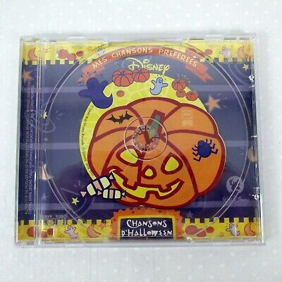 Halloween French Song (Walt Disney French Import Christmas Songs CD Chansons)
