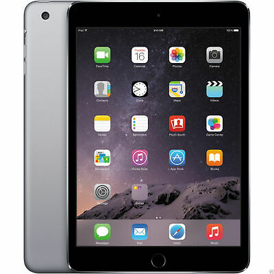 "Apple iPad Mini 2 7.9"" Retina Display 16GB 32GB 64GB - WiFi - Space Gray Silver"