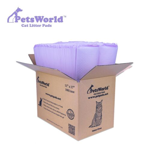 PETSWORLD Fresh Scented Cat Pads Refills for Tidy Cats Breeze Litter System100Ct