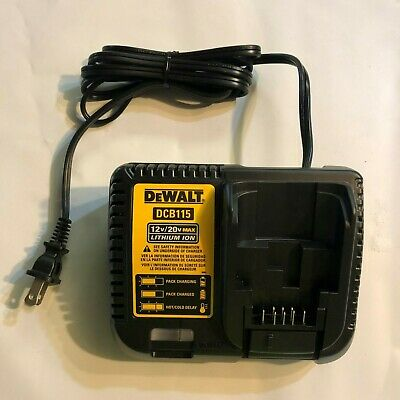 DeWalt DCB115 Charger 12/20 volt max Lithium ion Brand New