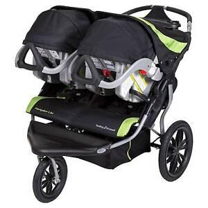 Baby Trend Navigator Lite Double Jogger Jogging Stroller Lincoln